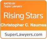 Super Lawyers Rising Stars - Christopher C. Naumes